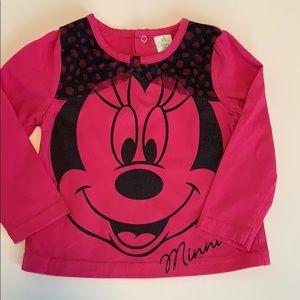 Disney long sleeve top